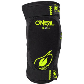 O'Neal Dirt Protectores de rodilla, negro/amarillo